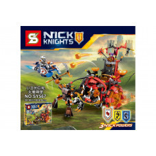 Конструктор Nexo Knights «Джестро-мобиль» (SY SY567)