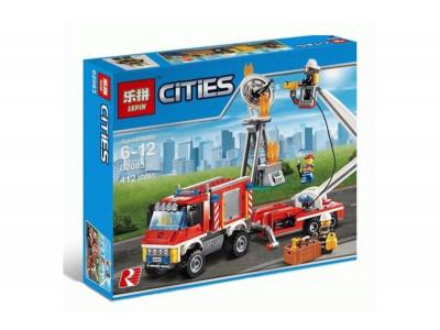 Конструктор City «Пожарный вспомогательный грузовик» (Lepin 02083)