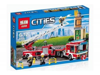 Конструктор City «Пожарная машина» (Lepin 02086)