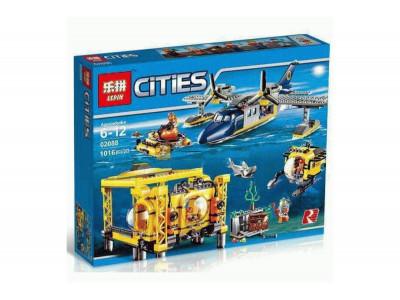 Конструктор City «Глубоководная исследовательская база» (Lepin 02088)