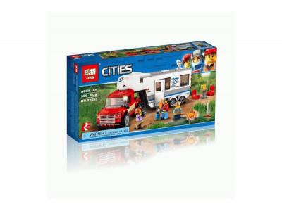 Конструктор City «Передвижная лаборатория в джунглях» (Lepin 02062)