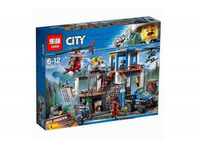 Конструктор City «Полицейский участок в горах» (Lepin 02097)
