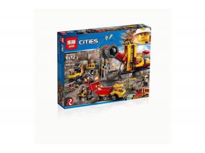 Конструктор City «Шахта» (Lepin 02102)