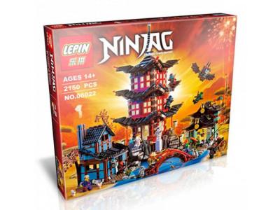 Конструктор Ниндзяго «Храм Аэроджитцу» (Lepin 06022)