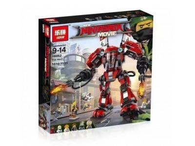 Конструктор Ниндзяго «Огненный робот Кая» (Lepin 06052)