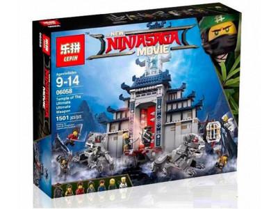 Конструктор Ниндзяго «Храм последнего великого оружия» (Lepin 06058)