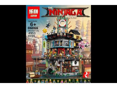 Конструктор Ниндзяго Сити (Lepin 06066)