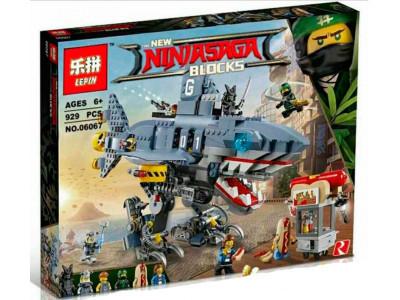 Конструктор Ниндзяго «Акула Гармадона: Нападение на Ниндзяго Сити» (Lepin 06067)
