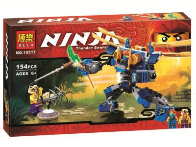 Конструктор Ниндзяго «Летающий робот Джея» (Bela 10317)