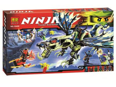 Конструктор Ниндзяго «Атака дракона Морро» (Bela 10400)