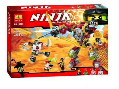 Конструктор Ниндзяго «Робот-спасатель» (Bela 10525)
