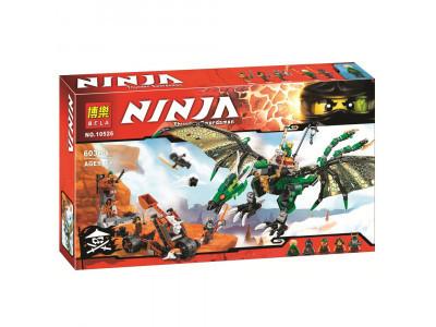 Конструктор Ниндзяго «Зелёный Дракон» (Bela 10526)