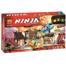 Конструктор Ниндзяго «Аэроджитцу: Поле битвы» (Bela 10527)