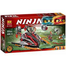 Конструктор Ниндзяго «Алый захватчик» (Bela 10580)