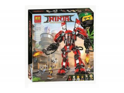 Конструктор Ниндзяго «Огненный робот Кая» (Bela 10720)
