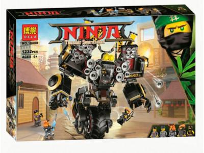 Конструктор Ниндзяго «Робот землетрясений» (Bela 10800)