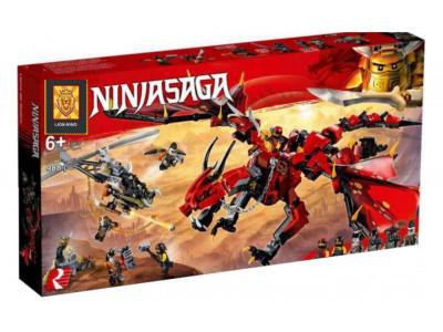 Конструктор Ninjago «Первый страж - Красный Дракон» (Lion King 180092)