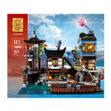 Конструктор Ninjago «Порт НИНДЗЯГО Сити» (Lion King 180093)