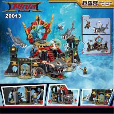 Конструктор Ниндзяго «Нападение Мегалодона» (Decool 20013)