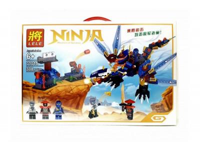 Конструктор Ниндзяго «Синий дракон Джея» (Lele 31015)