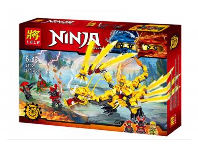 Конструктор Ниндзяго «Золотой дракон ниндзя» (Lele 31021)