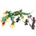Конструктор Ниндзяго «Механический дракон зеленого ниндзя» (Lele 31053)