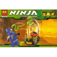 Конструктор Ниндзяго «Thunder Swordsman» (Bela 9776)