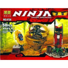 Конструктор Ниндзяго «Thunder Swordsman» (Bela 9777)