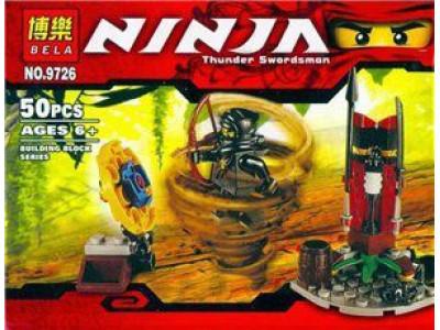 Конструктор Ниндзяго «Бесстрашный воин» (Bela 9726)