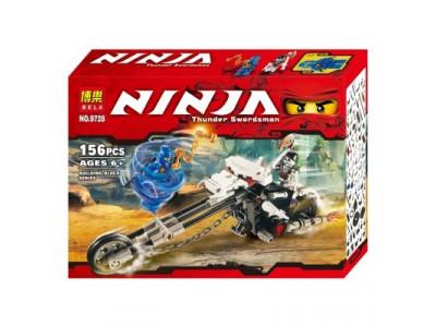 Конструктор Ниндзяго «Мотоцикл-Череп» (Bela 9728)