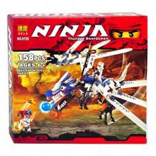 Конструктор Ниндзяго «Атака ледяного дракона» (Bela 9729)