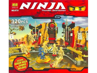 Конструктор Ниндзяго «Арена смерти» (Bela 9731)