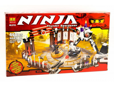 Конструктор Ниндзяго «Боевая арена Ниндзяго» (Bela 9733)