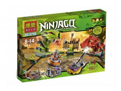 Конструктор Ниндзяго «Сражение со змеей» (Bela 9758)