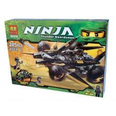 Конструктор Ниндзяго «Атака Коула» (Bela 9759)