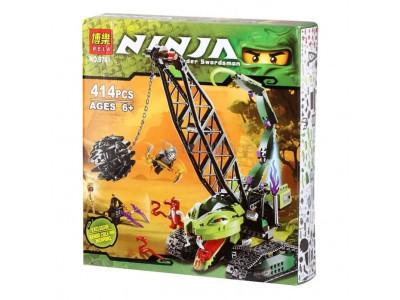 Конструктор Ниндзяго «Разрушительная машина» (Bela 9761)