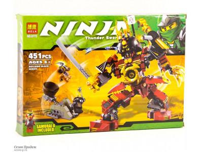 Конструктор Ниндзяго «Механический самурай» (Bela 9775)