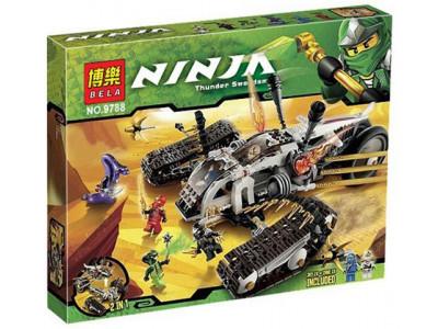 Конструктор Ниндзяго «Сверхзвуковой самолет» (Bela 9788)