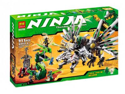 Конструктор Ниндзяго «Последняя битва драконов» (Bela 9789)