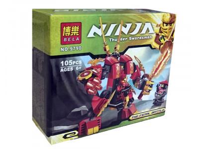 Конструктор Ниндзяго «Огненный робот Кая» (Bela 9790)