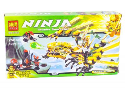 Конструктор Ниндзяго «Золотой дракон» (Bela 9793)