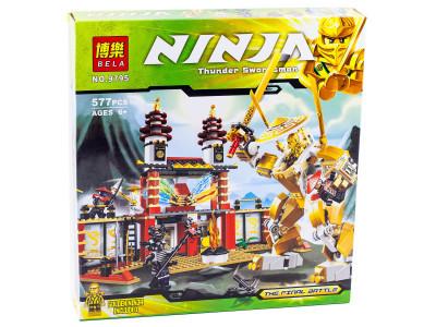 Конструктор Ниндзяго «Храм света» (Bela 9795)