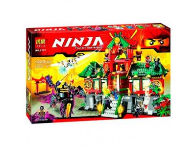 Конструктор Ниндзяго «Битва за Ниндзяго Сити» (Bela 9797)