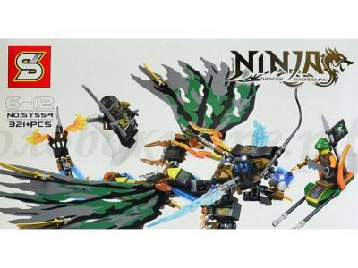 Конструктор Ниндзяго «Битва Коула на черном драконе» (SY SY554)