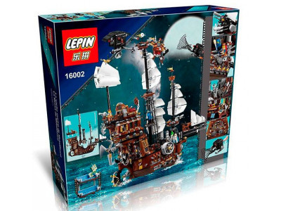 Конструктор Пираты «Корабль Стальной Бороды» (Lepin 16002)