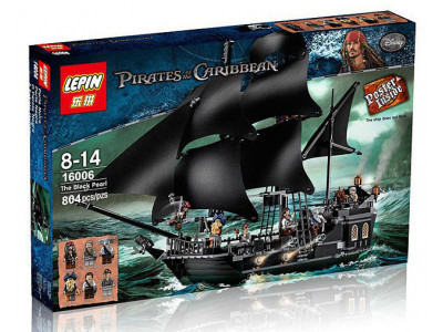 Конструктор Пираты Карибского моря «Черная Жемчужина» (Lepin 16006)