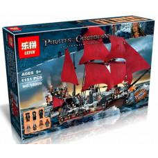 Конструктор Пираты Карибского моря«Корабль Месть королевы Анны» (Lepin 16009)