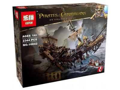 Конструктор Пираты Карибского моря «Безмолвная Мэри» (Lepin 16042)