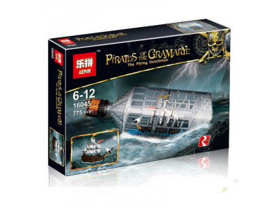 Конструктор Пираты Карибского моря «Корабль в бутылке» (Lepin 16045)
