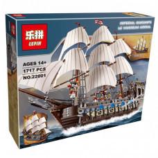 Конструктор Пираты Карибского моря «Корабль Имперский флагман» (Lepin 22001)